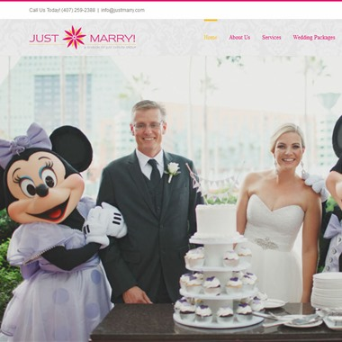 Just Marry wedding vendor preview