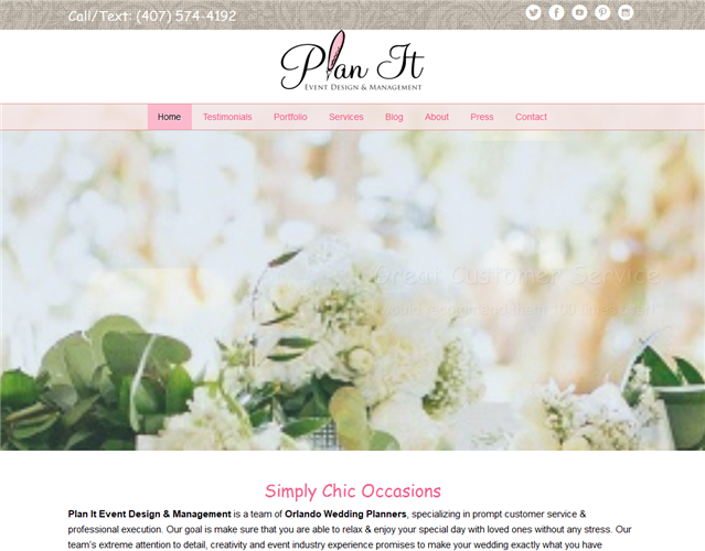 Plan It Event Design wedding vendor photo
