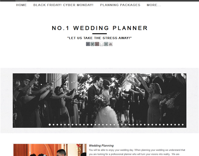 No.1 Wedding Planner wedding vendor photo