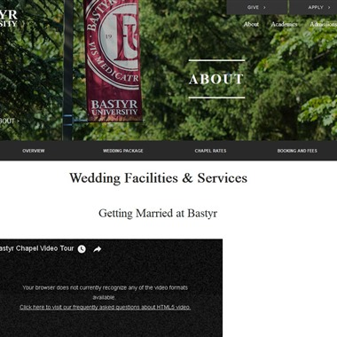 Bastyr University Chapel wedding vendor preview