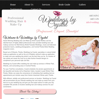Weddings by Crystal wedding vendor preview