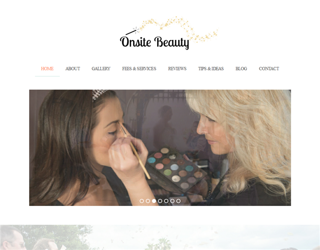 Onsite Beauty wedding vendor photo