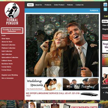 Formal Penguin wedding vendor preview