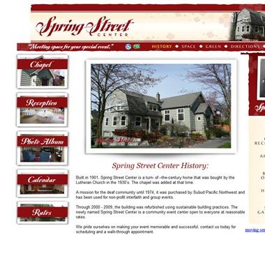 Spring Street Center wedding vendor preview