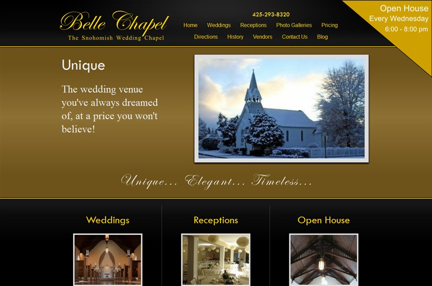Belle Chapel wedding vendor photo