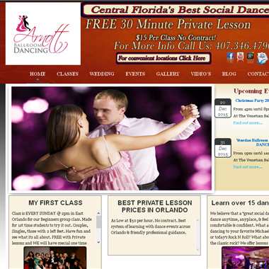 Arnott Ballroom Dance wedding vendor preview