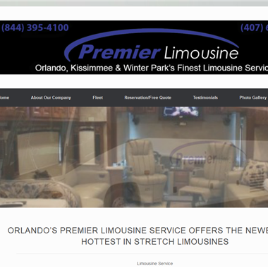 Premier Limo wedding vendor preview