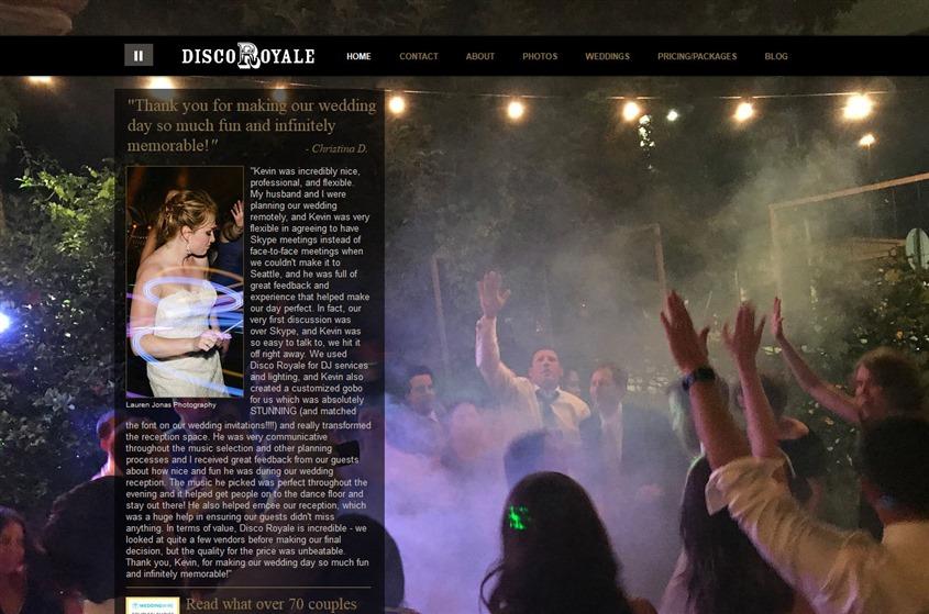 Disco Royale Entertainment wedding vendor photo