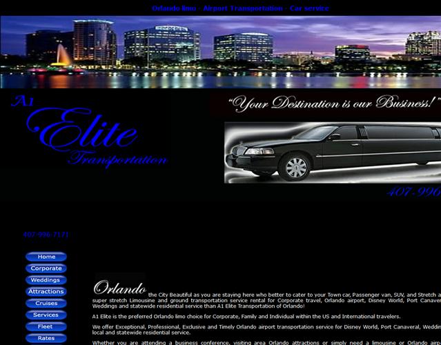 A1 Elite Transportation wedding vendor photo