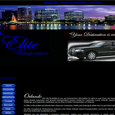 A1 Elite Transportation wedding vendor preview