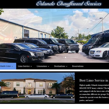 Orlando Chauffeured Services wedding vendor preview