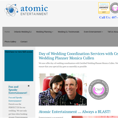 Atomic Wedding Dj wedding vendor preview