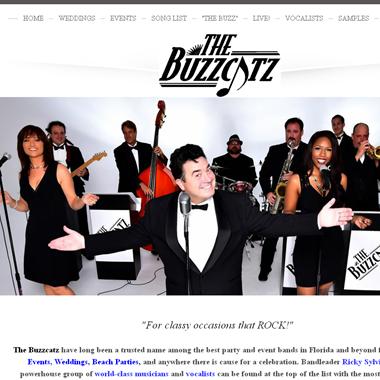 The Buzzcatz Band wedding vendor preview