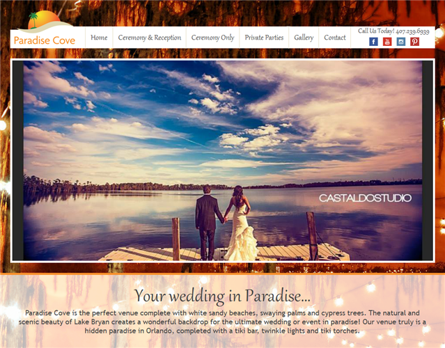 Paradise Cove Orlando wedding vendor photo