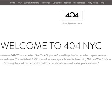 404 NYC wedding vendor preview