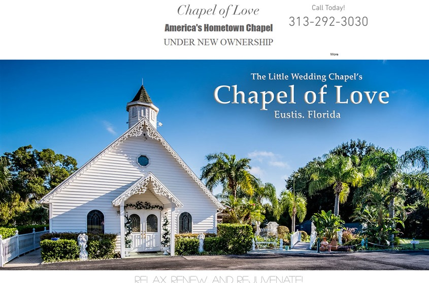 Chapel of Love Fl wedding vendor photo