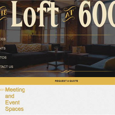 The Loft at 600 F wedding vendor preview