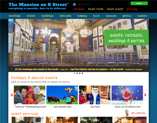 The Mansion on O Street wedding vendor photo