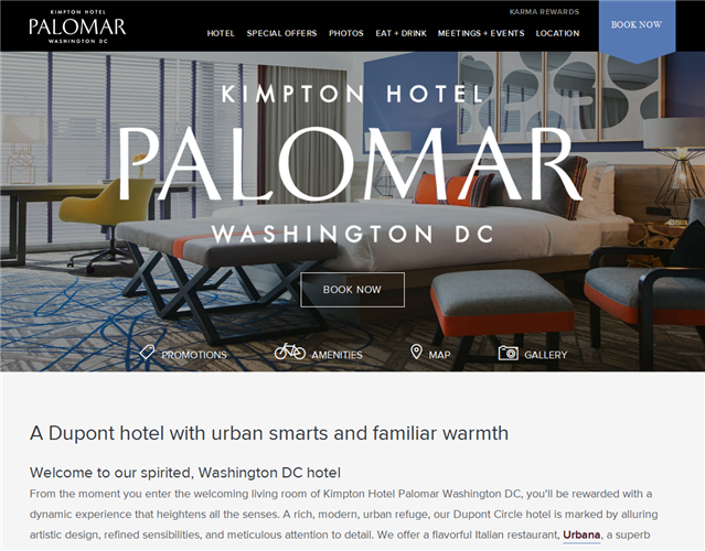 Hotel Palomar DC wedding vendor photo