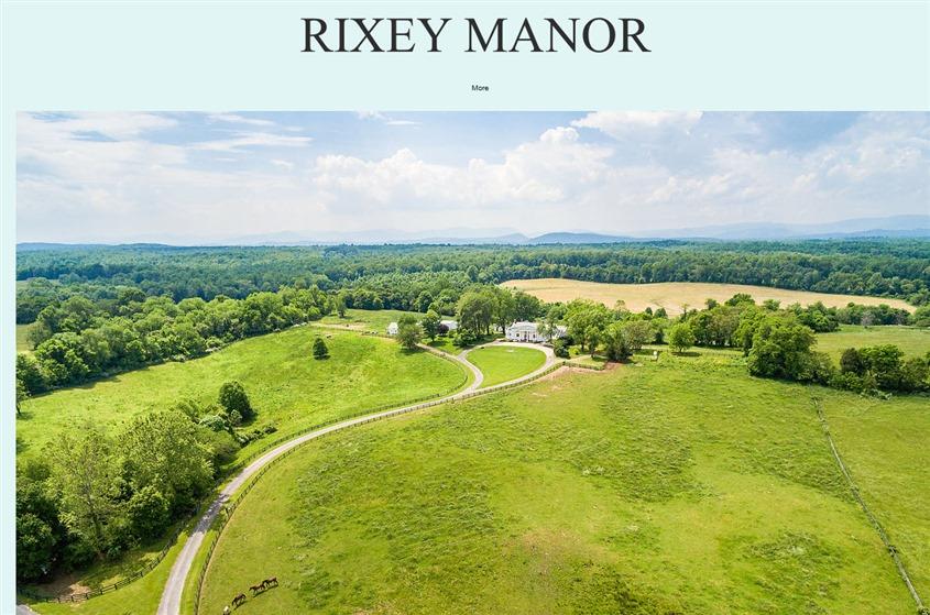 Rixey Manor wedding vendor photo