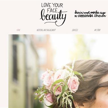 Love Your Face Beauty wedding vendor preview