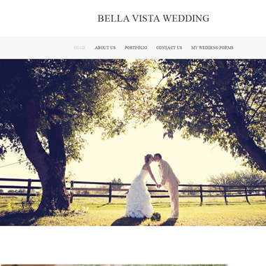 Bella Vista Wedding wedding vendor preview