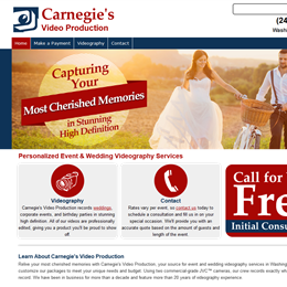 Photo of Carnegie's Video, a wedding videographer in Washington DC