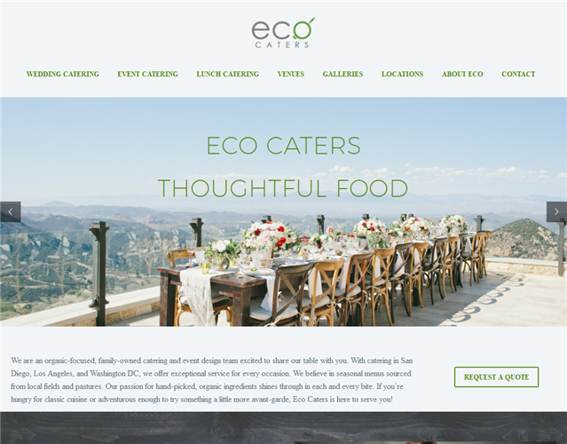 Eco Caters wedding vendor photo