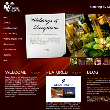 Superb Cuisines wedding vendor preview