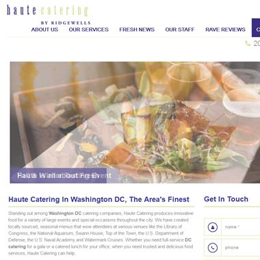 Haute Catering wedding vendor preview