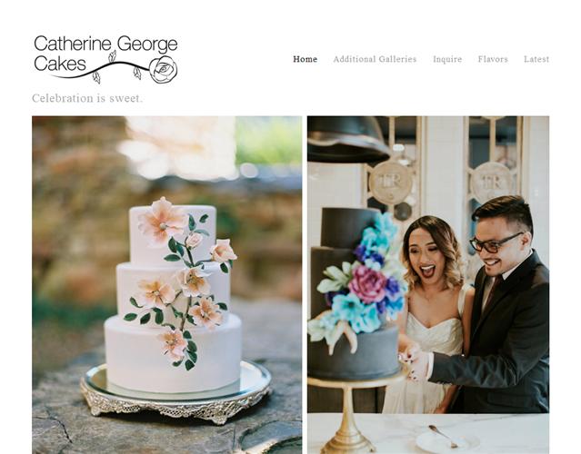 Catherine George Cakes wedding vendor photo