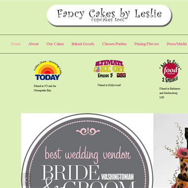 Fancy Cakes by Leslie wedding vendor preview
