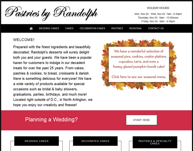 Pastries By Randolph wedding vendor photo