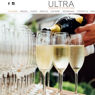 Ultra Events & Staffing wedding vendor preview