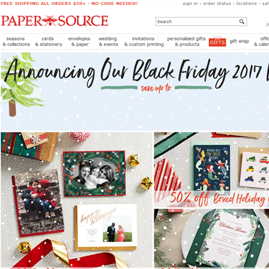 Paper Source wedding vendor preview