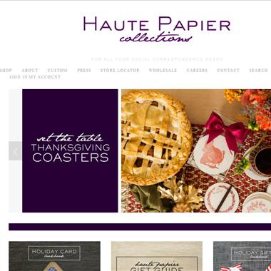 Haute Papier wedding vendor preview