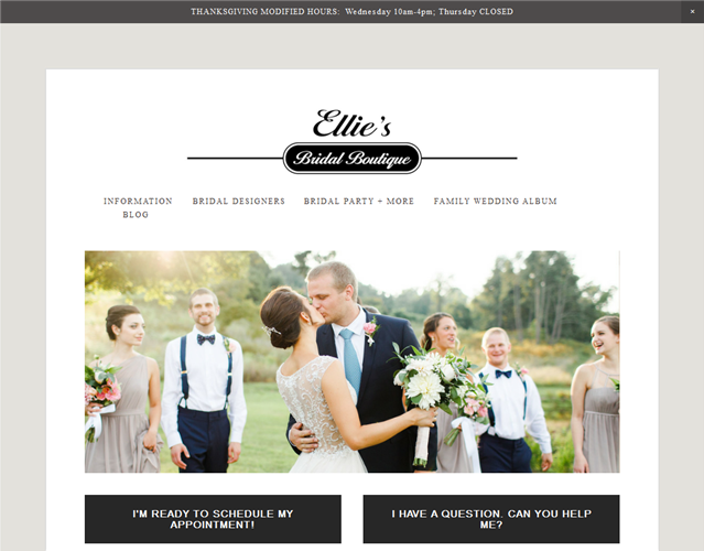 Ellie's Bridal  wedding vendor photo