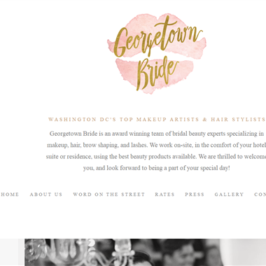 Georgetown Bride wedding vendor preview