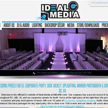 Ideal Media wedding vendor preview