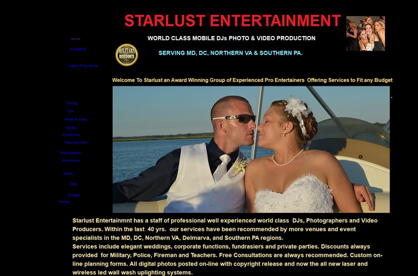 Starlust Entertainment wedding vendor photo