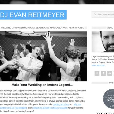 Dj Evan Reitmeyer wedding vendor preview