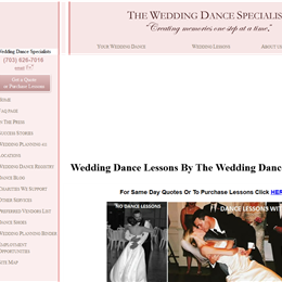 Photo of The Wedding Dance Specialists, a wedding dance instructor in Washington DC