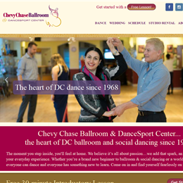 Photo of Chevy Chase Ballroom, a wedding dance instructor in Washington DC