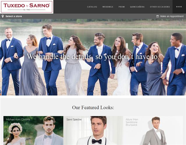 Tuxedo by Sarno wedding vendor photo