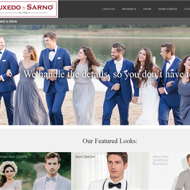 Tuxedo by Sarno wedding vendor preview