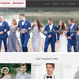 Photo of Tuxedo by Sarno, a wedding tuxedos and suits in Washington DC