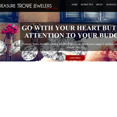 Treasure Trove Jewelers wedding vendor preview