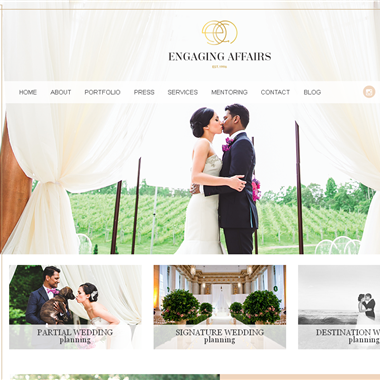 Engaging Affairs wedding vendor preview