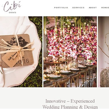Cbi Events wedding vendor preview