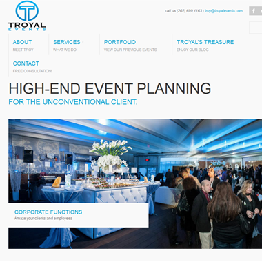 Troyal Events wedding vendor preview
